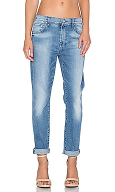 7 For All Mankind The Relaxed Skinny in Light Blue Hue