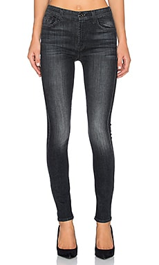 7 For All Mankind HW Skinny in Vintage Black