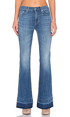 7 For All Mankind Ginger Released Hem in Bright Light Broken