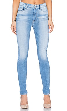 7 For All Mankind The High Waist Skinny in Mediterranean Sky