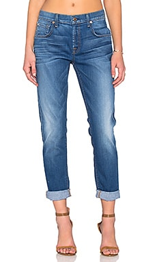 7 For All Mankind The Relaxed Skinny in Slim Illusion Barcelo