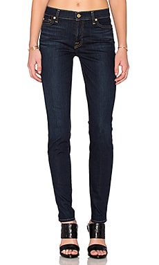 7 For All Mankind The Skinny in Dark Dusk Indigo