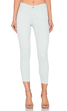 7 For All Mankind The Ankle Released Hem Skinny in Sage