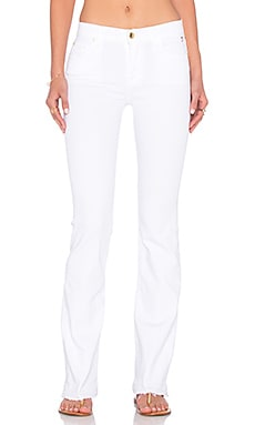 7 For All Mankind Bootcut in White