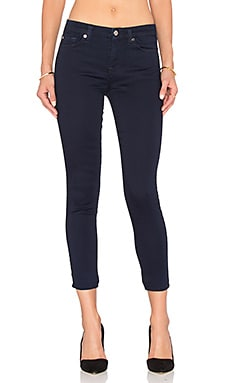 7 For All Mankind The Crop Skinny in Featherweight Rich Blue