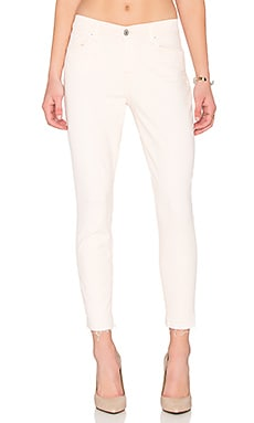 7 For All Mankind The Ankle Released Hem Skinny in Crystal Pink