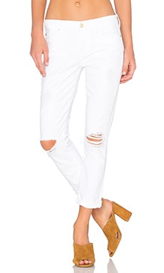 7 For All Mankind Josefina Destroy in Clean White 3