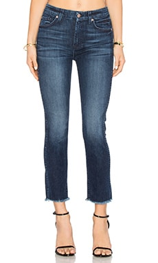 7 For All Mankind High Waist Ankle Straight in Acropolis Deep Sky