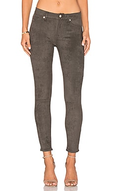 7 For All Mankind Knee Seam Skinny in Olive