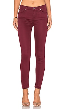 The Ankle Skinny en Cranberry