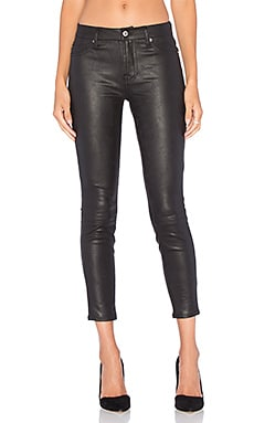 Knee Seam Skinny in Black