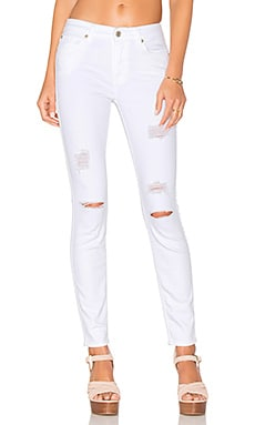 The Ankle Skinny in Clean White 3