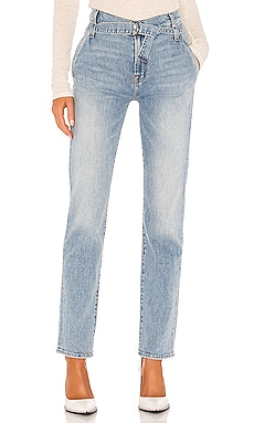 Paperbag Slim Straight 7 For All Mankind $153