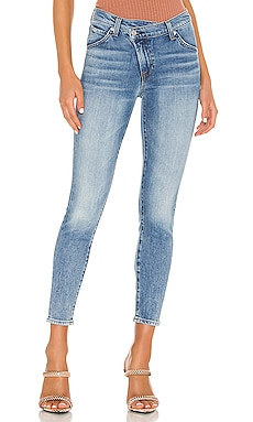 Asymmetric Front Slim 7 For All Mankind $255 NEW ARRIVAL