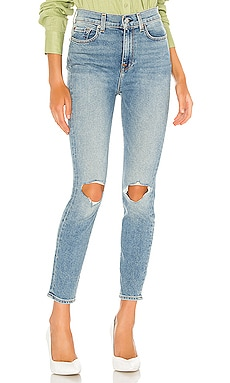 СКИННИ THE HIGH WAIST 7 For All Mankind $225