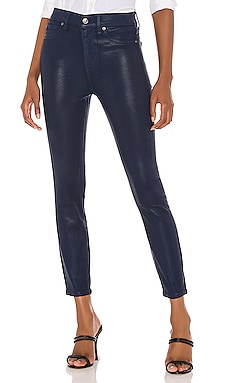 High Waisted Ankle Skinny Jean 7 For All Mankind $139