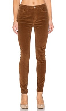 7 For All Mankind The HW Skinny Cord in Cognac