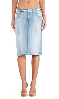 High Waist Fashion Seamed Pencil Skirt