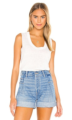Vintage Crop Tank 7 For All Mankind $125