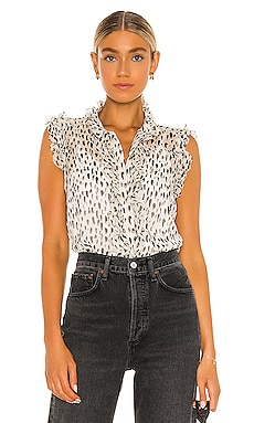 Sleeveless Top With Ruffles 7 For All Mankind $178 BEST SELLER