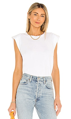 Shoulder Pad Tee 7 For All Mankind $98