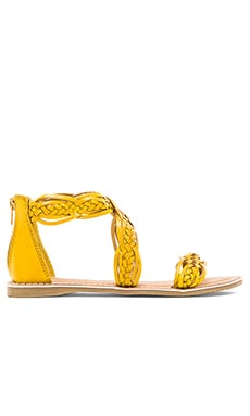 Scorpio Sandal in Yellow