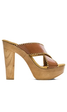 Seychelles Regency Wedge in Cognac