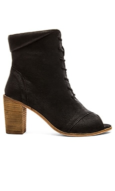 Seychelles Stun Open Toe Bootie in Black