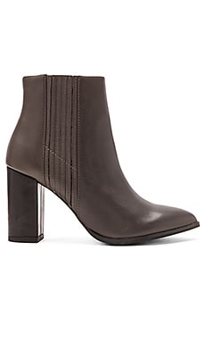 Seychelles Accordion Bootie in Dark Grey
