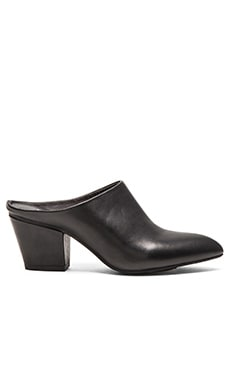 Seychelles Got The Answer Mule in Black Leather
