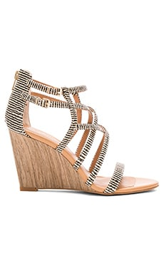 Seychelles Illustrious Sandal in Natural Stripe