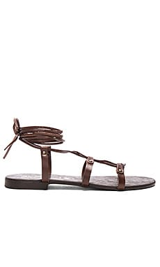 Gawk Sandal in Brown