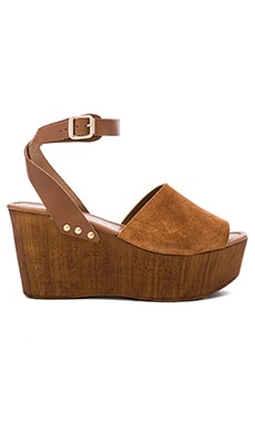 Forward Wedge en Cognac