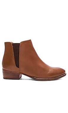 Wake Booties in Whiskey Leather