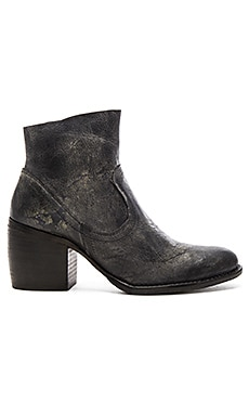 State of the Art Booties in Slate Leather