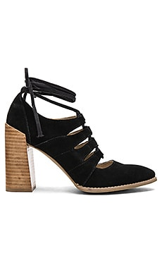 Condition Sandal in Black Suded