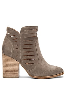 Let's Go Crazy Booties in Taupe