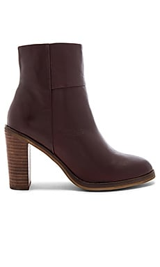 Gossip Bootie in Oxblood