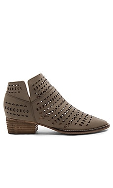 Tame Me Booties in Taupe Leather