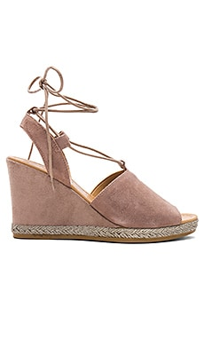 Whatnot Wedge in Taupe