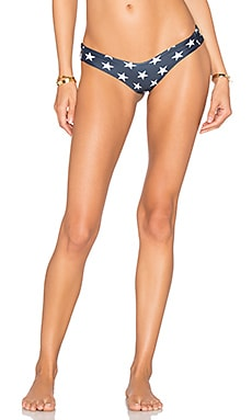 Stone Fox Swim Tucker Bikini Bottom in Stars