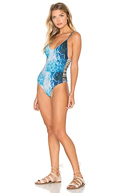 Stone Fox Swim Hermosa One Piece in K Bay