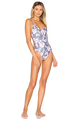 Hermosa One Piece Swimsuit in Flor Gitano
