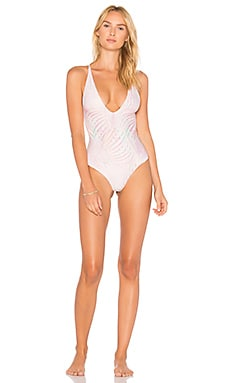 Купить Слитный купальник palma - Stone Fox Swim розового цвета