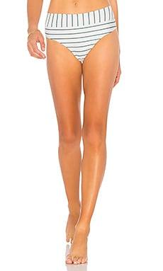 Купить Низ бикини zion - Stone Fox Swim, С высокой талией, Индонезия, Белый