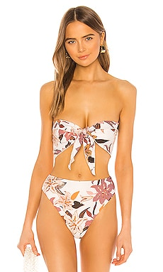 Anini Scarf Top Stone Fox Swim $80