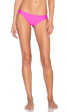Cai Scrunch Skimpy Bikini Bottom in Pitaya