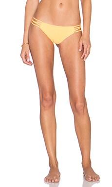 Stone Fox Swim Gypsy Bikini Bottom in Papaya