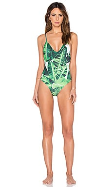 Stone Fox Swim Hermosa One Piece in Banana Leaf