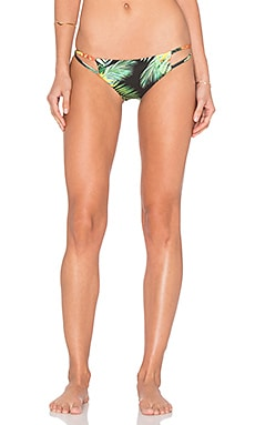 Stone Fox Swim Laguna Bikini Bottom in Midnight Tropic